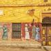 Colourful houses - Elephantine Island, Egypt
