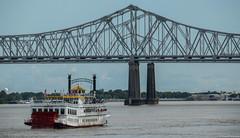 New Orleans, Louisiana (tomst.photography) Tags: mississippiriver mississippi louisiana neworleans ship steamship bridge water river travel usa america southernstates thebigeasy tomst