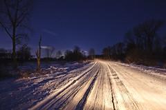 024/365 (local paparazzi (isthmusportrait.com)) Tags: 365project canon5dmarkii 1635mmf28lii 1635mm f28l ii lopaps pod 2019 redskyrocketman localpaparazzi isthmusportrait zoom wide ultrawide wideangle raw cr2 canonraw photoshopelements7 pse7 madisonwisconsinphotographer isthmus madisonwi danecountywisconsin wisconsin winter wisconsinwinter cold chilly freezing snowfall snow frigid pathway paths cherokeemarsh northside night nighttime dark afterdark longexposure headlights tracks fresh nightsky fall marsh iso500 darkness road street