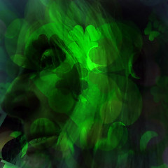 Happy St Patrick's Day (soniaadammurray - On & Off) Tags: digitalphotography manipulated experimental collage picmonkey photoshop abstract shamrocks green ireland stpatricksday celebration tribute shadows reflections artchallenge greenstateofmind spotlightyourbestgroup selfportrait