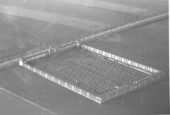 Carl Gwartney Collection Image (San Diego Air & Space Museum Archives) Tags: militarycemetery cemetery aerialphoto aerialphotography aerialphotograph 29thtroopcarriersquadron