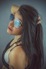 Blue Shades (Luv Duck - Thanks for 13M Views!) Tags: select elizabeth brunette beautifulgirl beautifulbody sunglasses shades naturalbeauty youngmodel alaskangirls photoshoot modeling