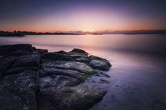 5V6A1552_red (Eivind Nielsen) Tags: åkrasand karmøy landskap landscape sea water ocean sunset beach lee bigstopper sand