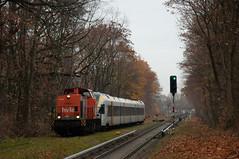 27-11-2018 - Berlin Reinickendorf (berlinger) Tags: berlin deutschland reinickendorf eisenbahn railways railroad train v100 stadtler flirt keolis hvle