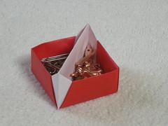 Diagonal toolbox (Mélisande*) Tags: mélisande origami box toolbox