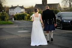 Happy New Life (PentlandPirate of the North) Tags: gretnagreen wedding scotland kilt bride groom