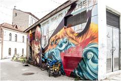 202- LA DELIRANTE REPÚBLICA INDEPENDEINET DE UZUPIS EN VILNIUS- LITUANIA - (--MARCO POLO--) Tags: curiosidades ciudades rincones hdr grafitis