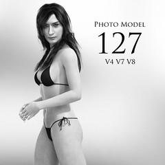 Photo Model 127 (Adam Thwaites) Tags: free photo model pose genesis3female genesis8female victoria4 poser dazstudio daz3d