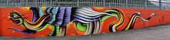 Graffiti 2014 in Bozen (pharoahsax) Tags: graffiti kunst bozen italien südtirol orte graffitycharacter objekte art streetart street urban urbanart paint graff wall artist legal mural painter painting peinture spraycan spray writer writing artwork tag tags worldgetcolors world get colors