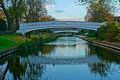 River Sow in Victoria Park (Ugborough Exile) Tags: stafford staffordshire midlands england uk sony a6300 2018 hdr