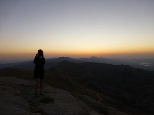 Taking pictures, Mount Nemrut (Nemrut Dağı), Turkey