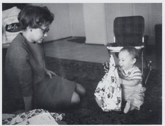 1966_12_Ken's first X-mas (Ken_Mayer) Tags: mayer family vinsonhallclearout