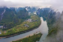 DJI_0855 (2)-HDR (www.mikereidphotography.com) Tags: china guilin drone yangshuo aerial asia mavic mavicpro2 xianggong
