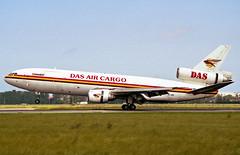 5X-JOE Douglas DC-10-30CF Das Air Cargo (Keith B Pics) Tags: 5xjoe n116wa oosla douglas dc10 freighter cargo dsr6145 keithbpics dasair ostend ebos ost