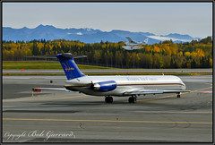 N965CE Everts Air Cargo (Bob Garrard) Tags: n965ce air cargo mcdonnell douglas md83 dc983 alaska airlines doj department justice n965as anc panc