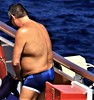 people on cruise pool deck (miosoleegrant2) Tags: deck cruise vacation sea pool swim bare chest naked swimsuit swimwear sunning male men hunk muscle masculine pecs torso guy chested buzz armpits hairy nipples abs navel outdoor water swimming sport husky burly strapping brawny speedo