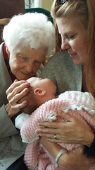 Swanee, Granddaughter Shauna and baby Willow (HeraldoAZ) Tags: baby mothers family