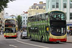BJ63 UJP, North Street, Brighton, August 6th 2015 (Southsea_Matt) Tags: bj63ujp 486 wright eclipse gemini volvo b9tl brightonhove goahead northstreet brighton sussex canon 60d 1850mm august 2015 summer bus omnibus vehicle transport alanrandall