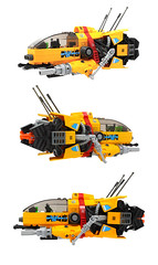 Modified AstorCorp J-75 CHEETAH (nate_decastro) Tags: lego moc starfighter spaceship spacepirates scifi afol t