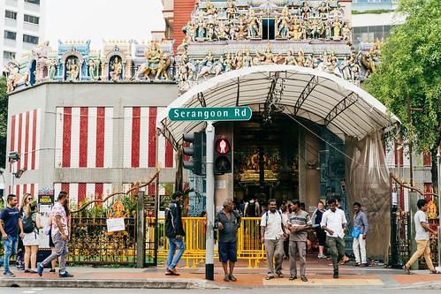 2019新加坡跨年趣,維拉瑪卡里雅曼興都廟
