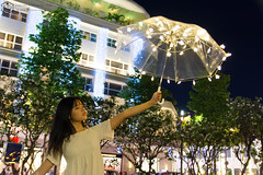 Fairy light 04 (Phi Trieu Photography) Tags: fairylight light night girl teen umbrella beautiful cute kawaii lovely longhair walkstreet nguyenhuestreet phốđibộ phitrieuphotography nikon nikond7100 d7100
