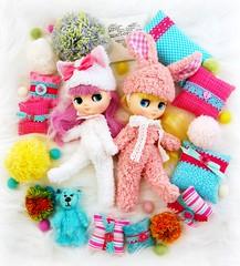 It's Time to get Fluffy (Leslieshappyheart) Tags: puchippuchappupepa nellienibbles blythemiddiedoll fluffy