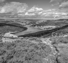 Ladybower Reservoir 2018 (Rod Martins) Tags: ashoptonbridge bamfordedge derbyshire ladybower landscapes peakdistrict blackandwhite