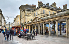 The city centre, Bath, Somerset (Baz Richardson) Tags: bath bathcitycentre georgianarchitecture stallstreet citycentres streetscenes somerset