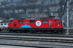 """2019-02-04, CFF, St. Maurice, Re 420 294 """"KNIE"""" (Fototak) Tags: eisenbahn treno railway train sbbcffffs re420 valais switzerland elok locomotive knie 420294"""