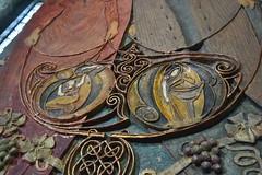 Chapel Decorations (PLawston) Tags: uk britain england surrey north downs compton watts chapel