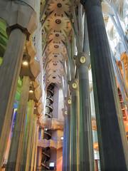 La Sagrada Familia, Barcelona (dckellyphoto) Tags: lasagradafamilia barcelona catalonia spain 2015 cathedral thebasílicaitempleexpiatoridelasagradafamília church antonigaudí gaudi europe architecture basilica