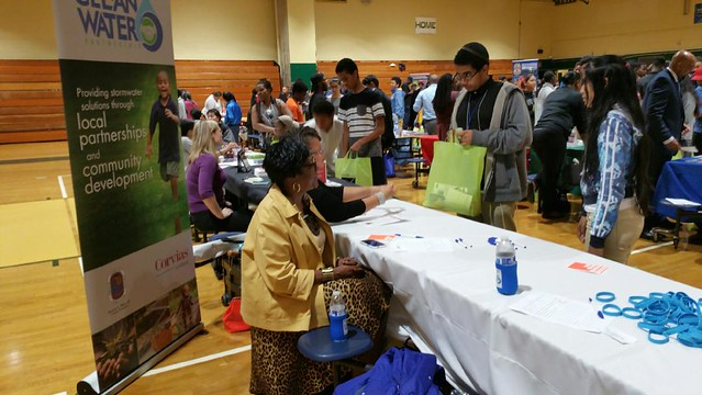 College and Career Fair at Parkdale High-2016
