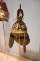 Josean dynasty fancy Korean helmet (quinet) Tags: 2017 antik asia canada ontario rom royalontariomuseum toronto ancien antique