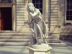 Randolph Rogers,American,1825-1892,Nydia,The Blind Flower Girl of Pompeii,circa 1853-54,marble (marcos2077) Tags: metropolitanmuseumofart randolphrogers a