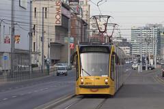Smiling tram (MHU823) Tags: budapest bkk bkv villamos siemens combino smile