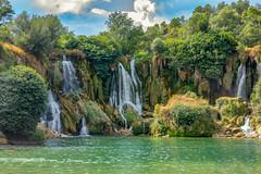 Kravica waterfalls (_Sylvian) Tags: bosniaandherzegovina kravica holidays lake landscape nationalpark nature outdoor park river summer summertime trees vacation water waterfalls sigma canon canon60d 1835