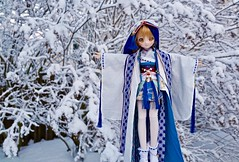 Winter is here ! It means winter sports for my girls ;) (Real Salica) Tags: minidollfiedream mdd volks volksdd volksusa volksinc vinyl 14scale winter landscape snow japanese outfit anime doll bjd figure japon