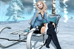 Yuletide Wishes (kirstentacular) Tags: catwa cheekypea doe foxcity justbecause maitreya ncore sales uber whimsical