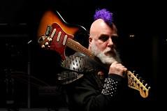 Spike Juhnsan at the Manigotapi Arena (Studio d'Xavier) Tags: werehere rocknroll rockroll guitar mohawk 352482