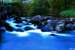 Cascade (Tof-H) Tags: cascade rivière elorn landerneau plouedern rocher nature longue pose exposure exposition expo france finistère brittany bretagne brest bzh
