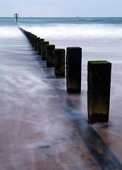 I'm the lost and found (PeskyMesky) Tags: aberdeen aberdeenbeach longexposure groyne water sea ocean sunrise sunset scotland canon canon6d eos leefilter littlestopper