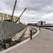 THE TITANIC WALKWAY ALONG THE RIVER LAGAN [A NEW TOURIST ATTRACTION IN BELFAST]-145506