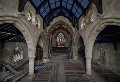 (k_a_t_i_a) Tags: urbanexploring explore england europe church canon stainedglass religion derelict decay ruin rotten architecture