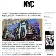 Distort in Hoboken, NJ (LoisInWonderland) Tags: distort distoart streetart muralart hoboken nj