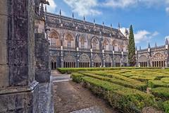 Claustro Real del Monasterio de Batalha (Leiria, Portugal) (Miguelanxo57) Tags: arquitectura monasterio claustro gótico manuelino batalha leiria portugal unesco