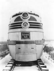 CB&Q E5 9910A (Chuck Zeiler52) Tags: cbq e5 9910a burlington railroademd locomotive lagrange train electromotivedivision chz