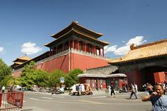 Right Palace Gate (Simon Chorley) Tags: holiday geo:lat=3991134456 geo:lon=11639006532 geotagged beijing china chn peking