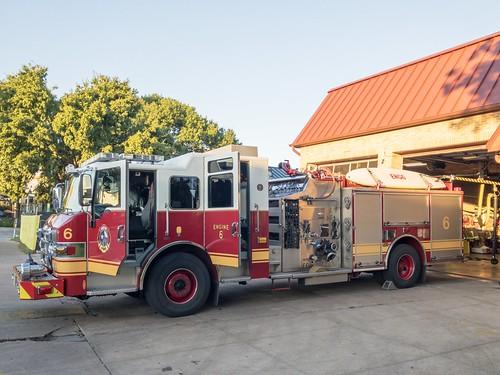 Austin Fire Truck Side