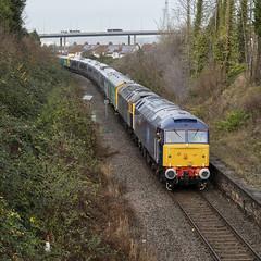 Class 47s at Pill (powern56) Tags: bristol pill royalportburydock class47 47815 47812 diesellocomotive rog railoperationsgroup class397 emu electricmultipleunit tpe transpennineexpress 5q32 northsomerset