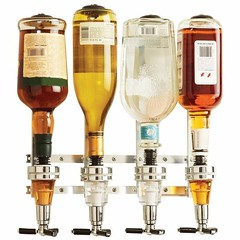 Exclusive Wall Mounted 4 In One Liquor Dispenser (mywowstuff) Tags: gifts gadgets cool family friends funny shopping men women kids home